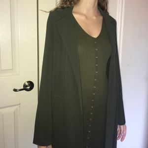 Misguided Duster Coat Fall Season Trench