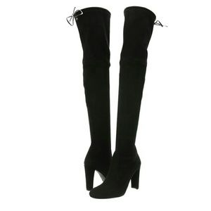 Stuart Weitzman Highland Suede Over The Knee Boot