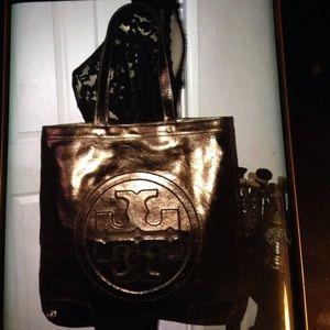 Tory Butch bronze bag