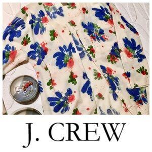 J.Crew watercolor cardigan