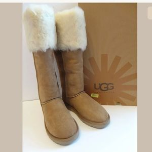 UGG Australia Over the Knee Bailey Button Boots 8