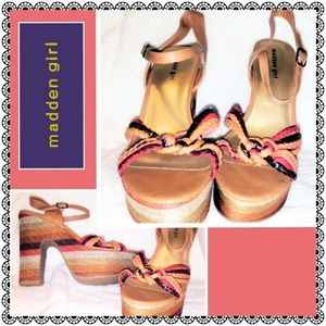 Madden girl heeled sandals