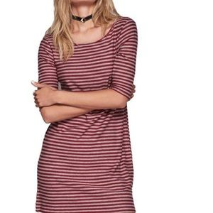 Free people multicolor T-shirt dress, size M, new