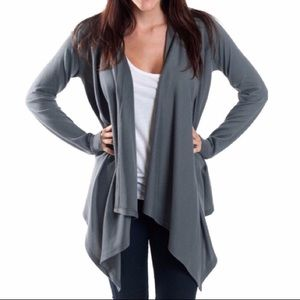 Sweaters - 🐘Coming soon!!🐘 Gray layering cardigan
