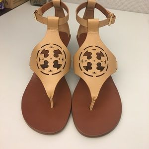 Brand new Tory Burch Zoey sandals