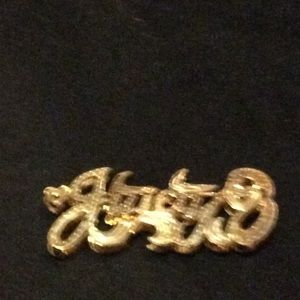 Fashion nameplate charm