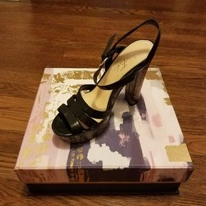 Marc Fisher Leather Sandals