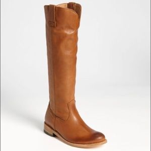 "Dolce Vita Camel ""Lujan"" Pull On Leather Boots"
