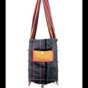 Handcrafted Hmong Buddha Crossbody bag