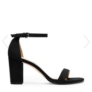 Stuart Weitzman THE NEARLYNUDE in Black Suede