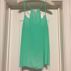 Lilly Pulitzer Dusk Tank Top in Sea Green