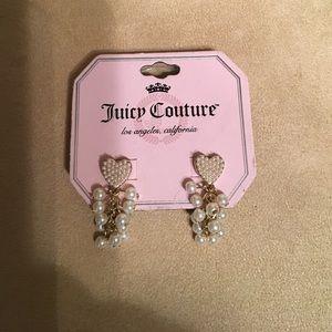 Juicy Couture earrings 💖❤️️💖