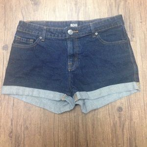 BDG Alexa Mid-Rise Denim Shorts
