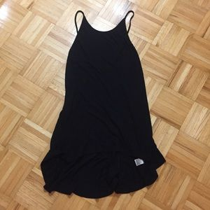 [Urban Outfitters] Black Ribbed Dress