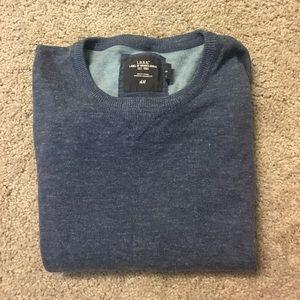 H&M blue oversized sweater