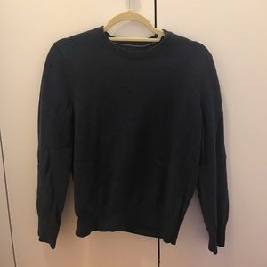 Men's Banana Republic Wool Navy Sweater Sz Medium