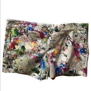 Express Watercolor Print Shorts