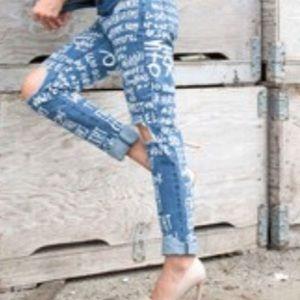 American Bazi Jeans - Graffiti jeans