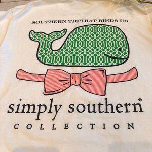 Simply Southern Ties That Binds Tee Shirt Medium