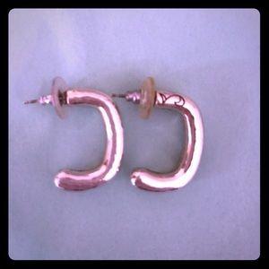 Brighton half hoop earrings