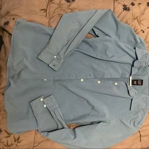 Gap stretch button down blouse
