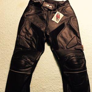 "Joe Rocket ""Girl"" race leather pants!"