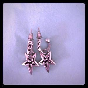Brighton star charm earrings