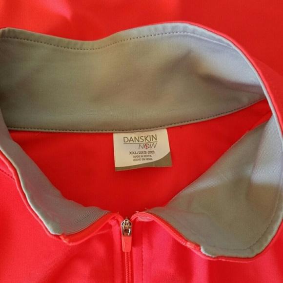 Danskin Now Jackets & Coats - Danskin Orange Long Sleeve Athletic Jacket, XXL