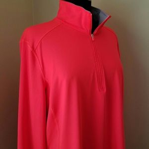 Danskin Now Jackets & Coats - Danskin Orange Long Sleeve Athletic Jacket, XXL