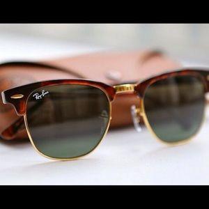 Rayban Club master Sunglasses 🕶 Tortoise  NEW!!🕶