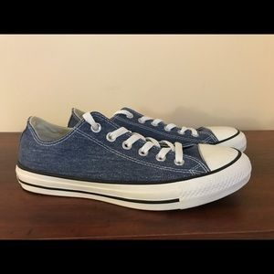 Converse All Stars Oxford Denim NWT SZ 8
