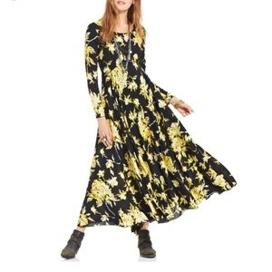Free People First Kiss Floral Print Maxi