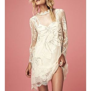 Free people long sleeve dress
