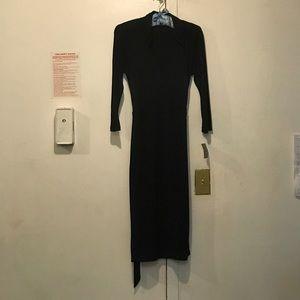 NWT Black wrap dress