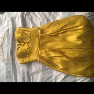 Gold AQUA Dress