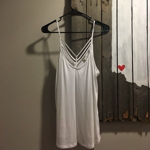 white tank top from Express