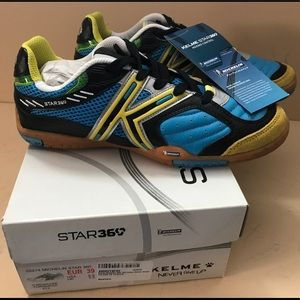 KELME STAR 360 Soccer Shoes NIB men's 6.5 WMS SZ 8