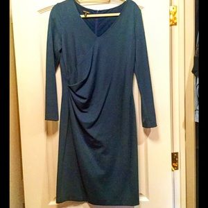 Escada Teal Colored Dress