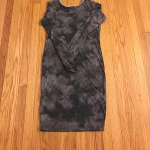 Grayish Bodycon Dress