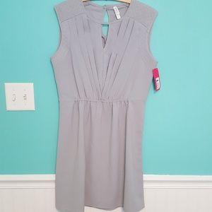 NWT L gray dress
