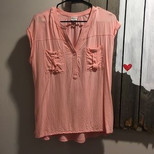 Comfy pink shirt with pockets from Target