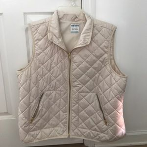 Old Navy Cream Vest