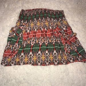 Love Culture skirt with pockets!