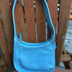 Vintage Coach Full leather handbag