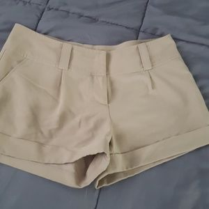 Dressy Khaki shorts