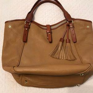 J Crew shoulder bag with tassel