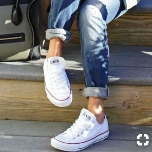 52c7898a6656 Converse Adult Vulk AllStar White WMNS. AUTHENTIC