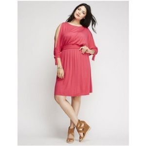 Lane Bryant Dresses - Lane Bryant • Cold Shoulder Dress