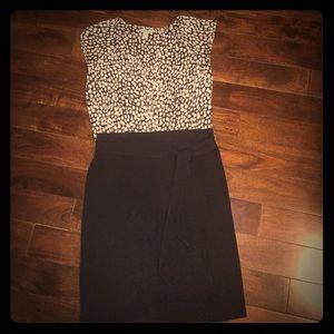 BUNDLE.   Express skirt and Old Navy shirt, small