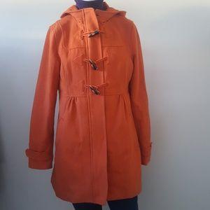 Orange Winter Jacket